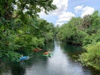 Kayaking in group