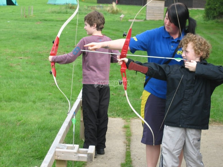 We can bring our archery field wherever you want