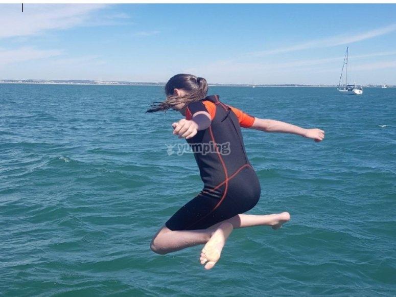 Fun times yachting