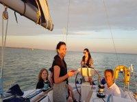 Weekend yachting in Hamble