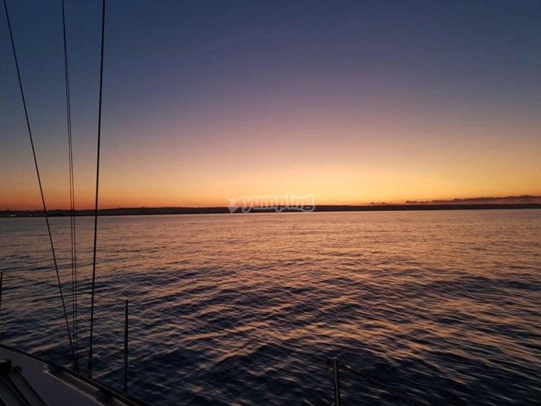 Enjoy the beautiful sunset views