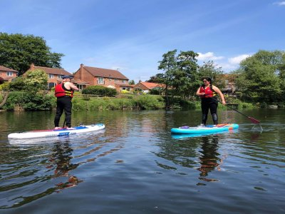 Paddleboarding Adventures in River Ure for 6h