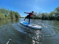 Paddleboarding is fun