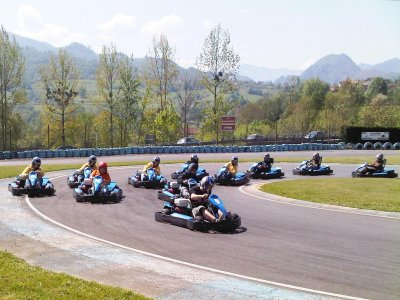 Paintball and karting in Gijon w/ menu