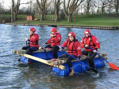 Raft Building Adventure in Semerwater for 3h