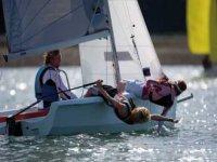 dinghy sailing on susex coast
