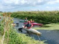 Kayaking on calm waters