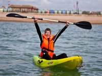 Open top kayaking in Brighton