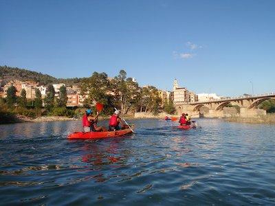 Guided Kayak Route Sitjar Reservoir in Ribesalbes