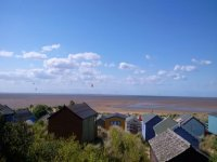 Hunstanton Beach view