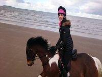 Beach Trekkiing at Aberconwy Equestrian Centre