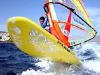 Exciting thrills of windsurfing!