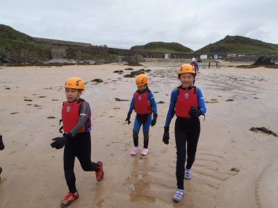 Full Day Coasteering Tour for Kids in Snowdonia