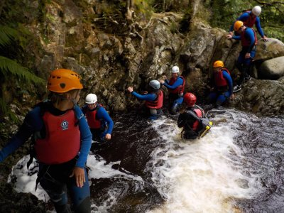 Half-Day Canyoning Session for Kids in Snowdonia