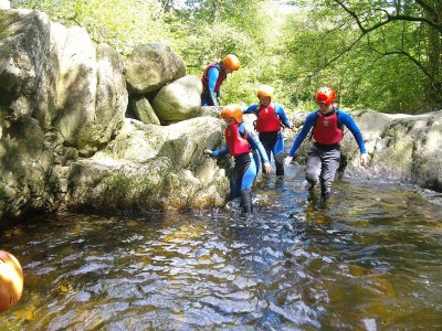 Full Day of Canyoning Adventures in Snowdonia