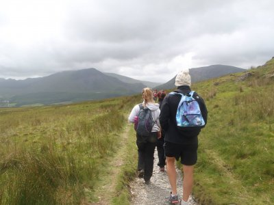 Hiking Session in Snowdonia for Half of a Day