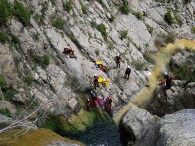 Canyoning Level II Lucena del Cid + Photos 4h