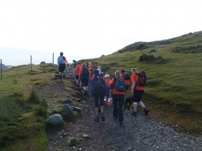 Hiking Session for a Full Day in Snowdonia