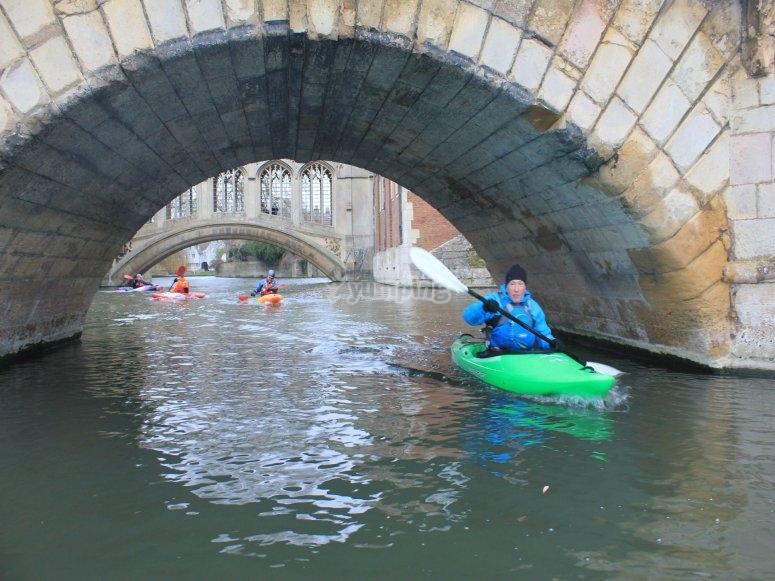 Kayaking is fun
