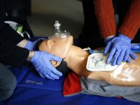 Learn how to give CPR