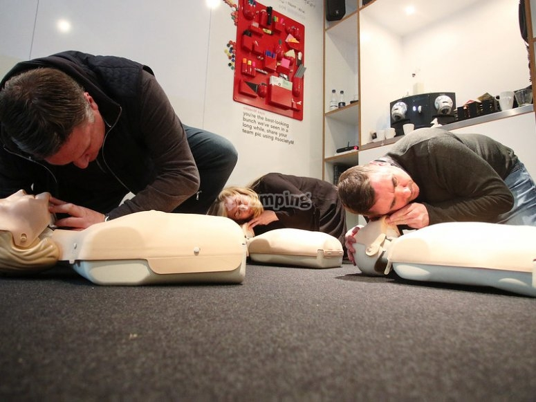 Learn to apply basic first aid