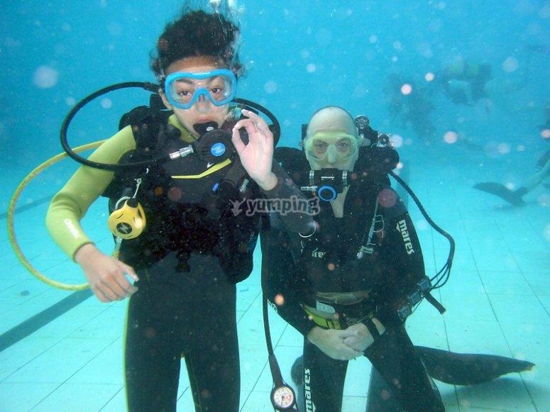 Learn scuba basics