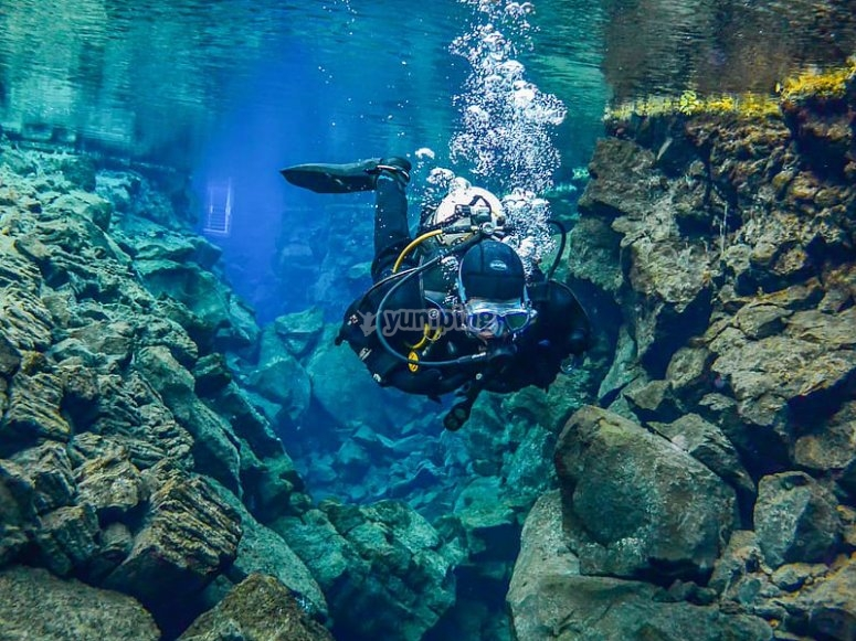 Book to experience a tec dive!