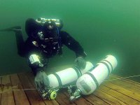 Take tec diving gear for a test drive