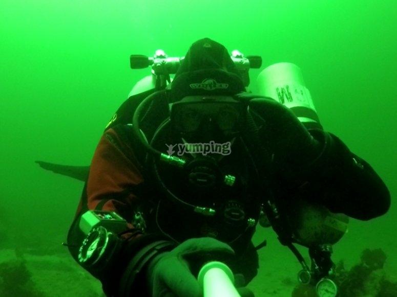 Think like a tec diver!