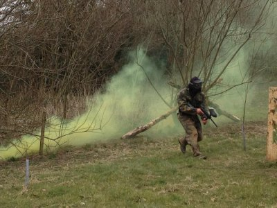 Paintball Battle in Newquay 300 paintballs