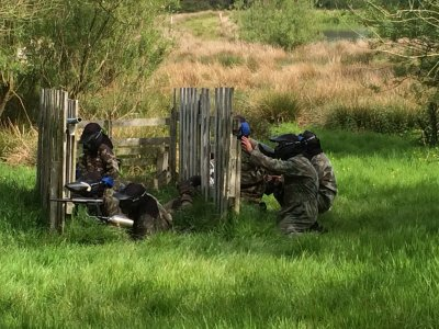 Paintball Game in Newquay 600 paintballs