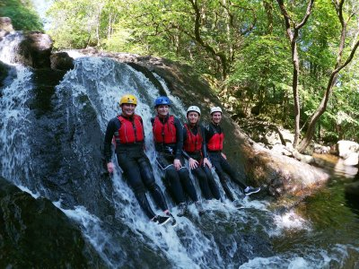 Canyoning Expedition in Norh Wales Full Day