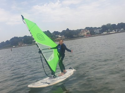 Kids Windsurfing Taster Lesson in Poole 2 Hours