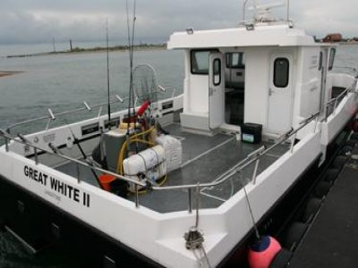 Great White Charters Fishing Boats