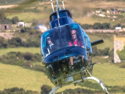Helicopter Ride over Bath for 15 milles