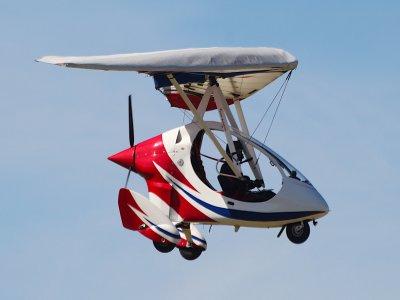 Microlight Flight with Video in Caernarfon 30 min