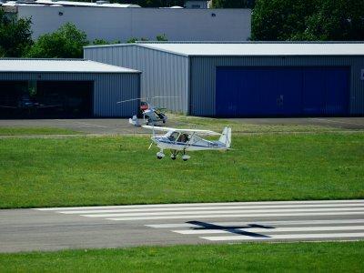 Microlight Flight with Video in Henstridge 30 min
