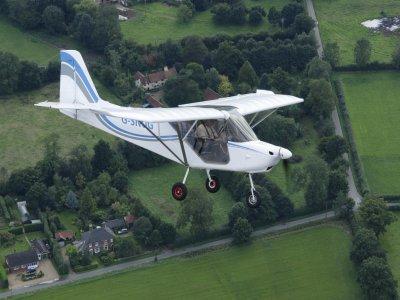 Microlight Flight with Video in Henstridge 45 min