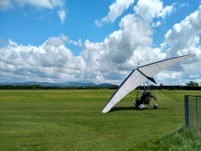 Microlight Flight with Video in Henstridge for 1h