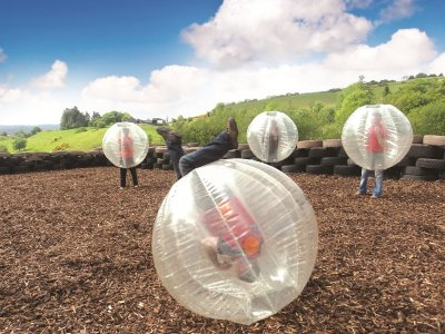Todds Leap Zorbing