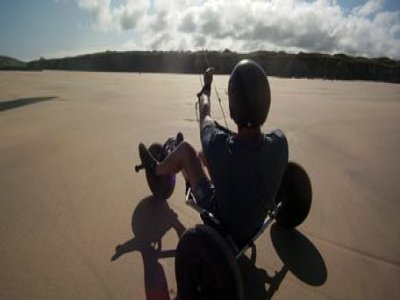 Introductory Kitebuggying Course Cornwall