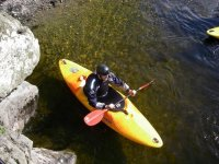 Kayaking is a great activity.