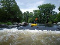 Kayaking in Cefn