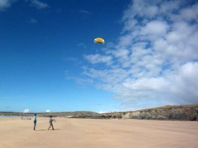 2 Hour Powerkiting Course Cornwall