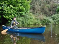 Why not try out some canoeing.