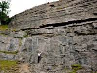 Climbing is lots of fun.