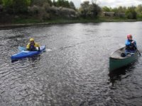 Paddling the River Tay