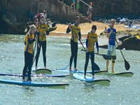 SUP is a great activity to do with friends