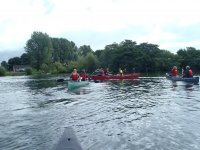 Canoeing in Bedale.