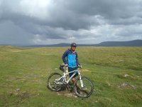 Mountain Biking at Whinlatter Forest with a couple.